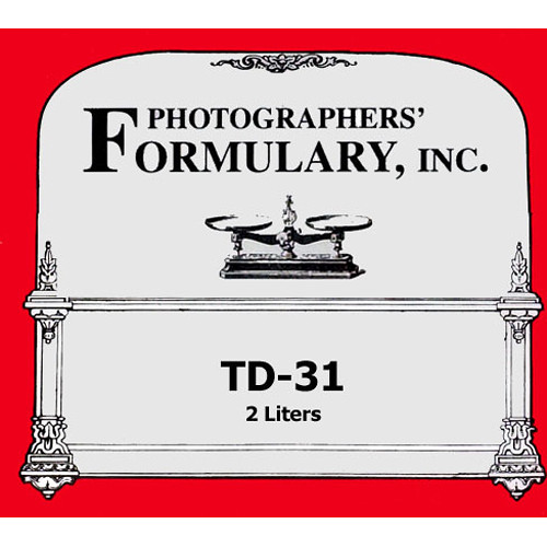 Photographers' Formulary TD-31 Developer for Black & White Paper