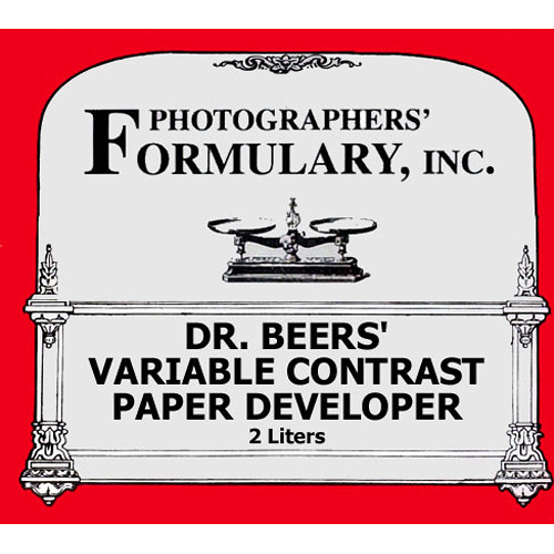 Photographers' Formulary Dr. Beer's Developer for Black & White Paper
