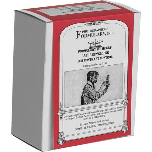 Photographers' Formulary Dr. Beer's Developer for Black & White Paper