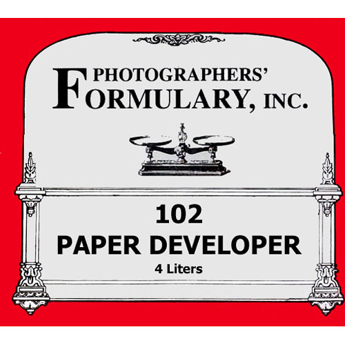 Photographers' Formulary 102 Developer for Black & White Paper - Makes 4 Liters