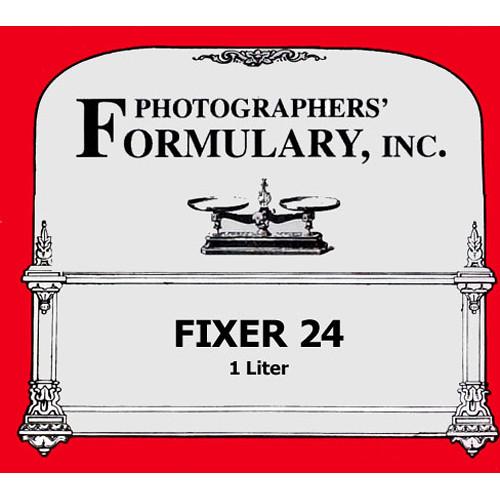 Photographers' Formulary Fixer No.24 for Black & White Film & Paper - Makes 1 Liter