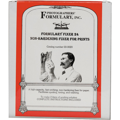 Photographers' Formulary Fixer No.24 for Black & White Film & Paper - Makes 2 Liters