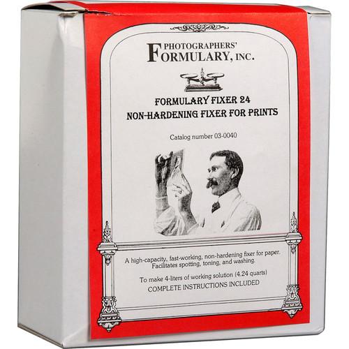 Photographers' Formulary Fixer #24 for Black & White Film & Paper