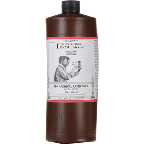 Photographers' Formulary TF-4 Archival Rapid Fixer for Black & White Film & Paper - Makes 1 Gallon