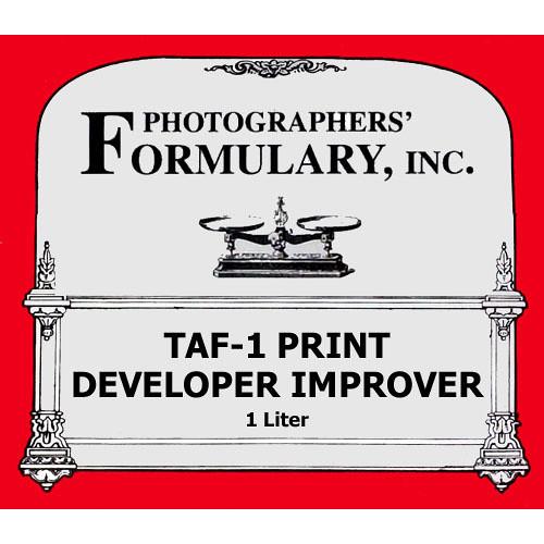 Photographers' Formulary TAF-1 Developer Improver for Black & White Paper - Makes 1 Liter
