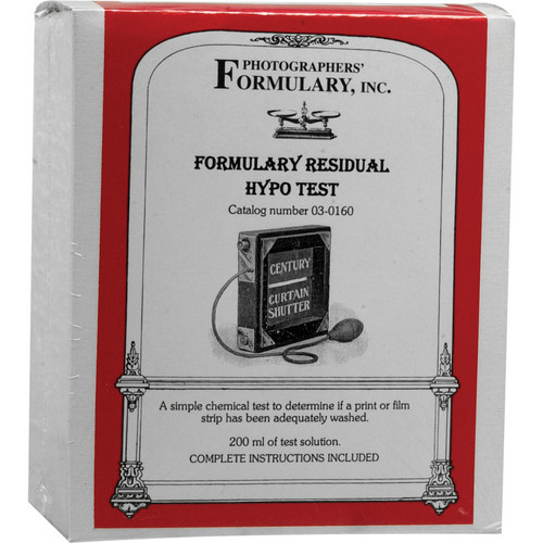 Photographers' Formulary Residual Hypo Test - 200ml