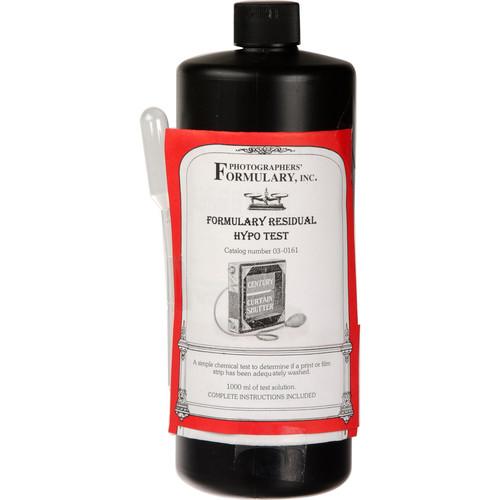 Photographers' Formulary Residual Hypo Test - 1 Liter