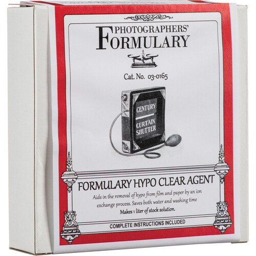 Photographers' Formulary Hypo Clear Agent for Black & White Film & Paper - 2.5 Gal.