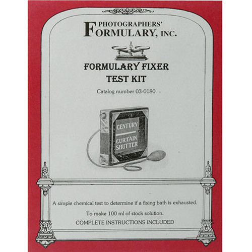 Photographers' Formulary FT-1 Fixer Test Solution - 100ml