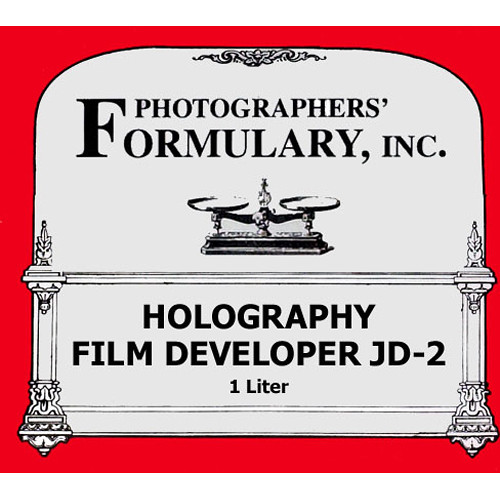 Photographers' Formulary JD-2 Holography Developer for Black & White Film - 1 Liter