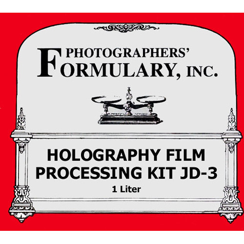 Photographers' Formulary JD-3 Holography Processing Kit for Black & White Film