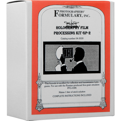 Photographers' Formulary GP-2 Holography Processing Kit - 1 Liter