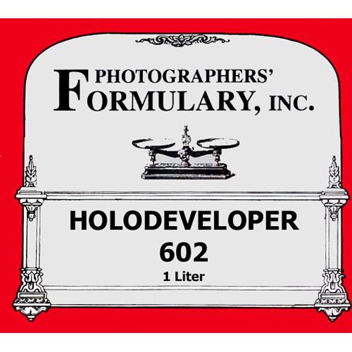 Photographers' Formulary 602 Holography Developer for Black & White Film