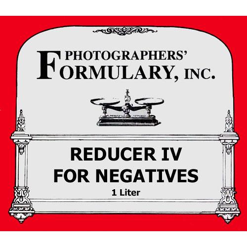 Photographers' Formulary Reducer IV for Black & White Film - 1 Liter