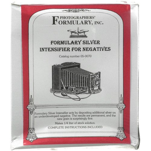 Photographers' Formulary Silver Intensifier for Black & White Film - Makes 1.5 Liters