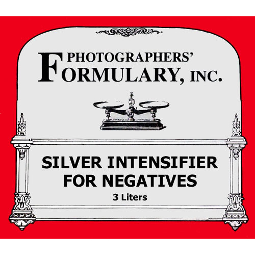Photographers' Formulary Silver Intensifier for Black & White Film - Makes 3 Liters