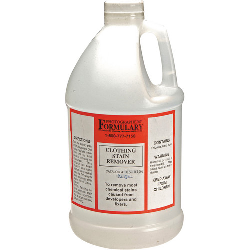 Photographers' Formulary Clothing Stain Remover - 1/2 Gallon