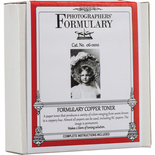 Photographers' Formulary Toner for Black & White Prints - Copper