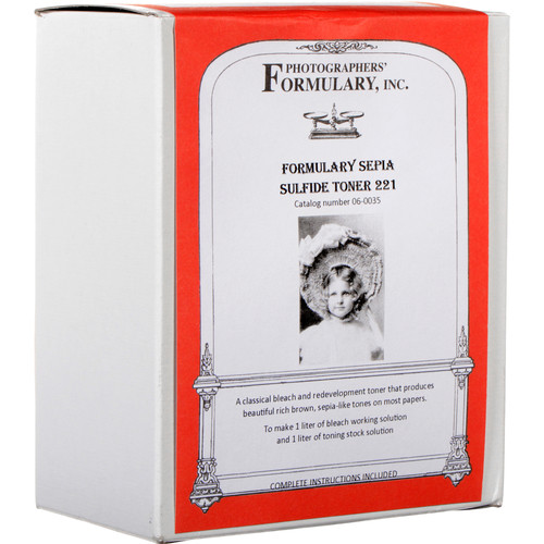 Photographers' Formulary Toner for Black & White Prints - Sepia Sulfide 221