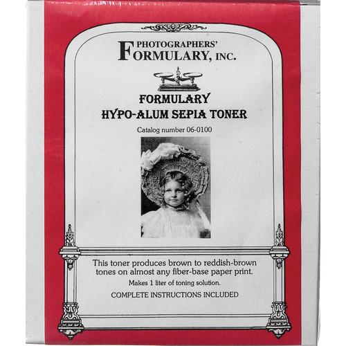 Photographers' Formulary Toner for Black & White Prints - Hypo-Alum Sepia
