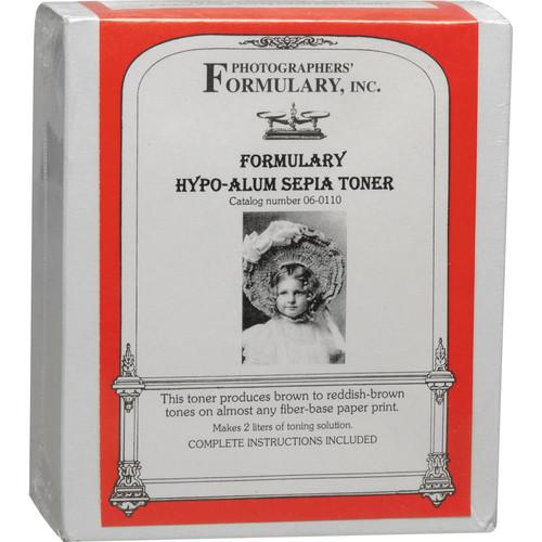 Photographers' Formulary Toner for Black & White Prints - Hypo-Alum Sepia/ Makes 2 Liters