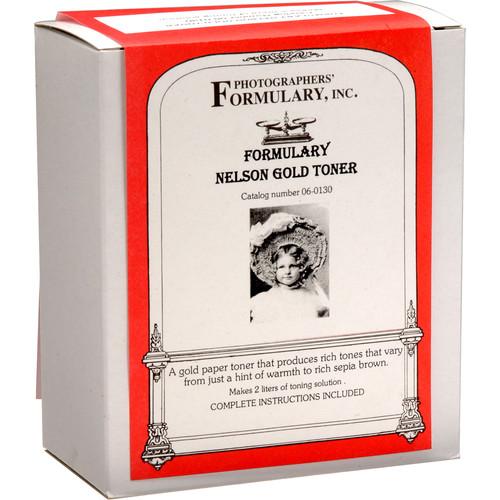 Photographers' Formulary Toner for Black & White Prints - Nelson Gold/ Makes 2 Liters