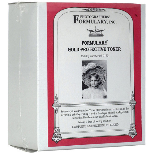 Photographers' Formulary Toner for Black & White Prints - Gold Protective