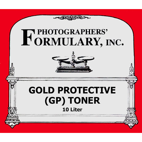 Photographers' Formulary Toner for Black & White Prints - Gold Protective/ Makes 10 Liters