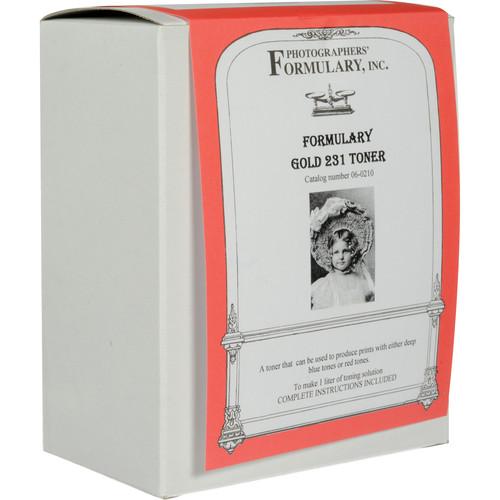 Photographers' Formulary Toner for Black & White Prints - Gold 231