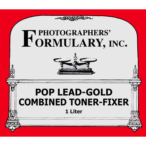 Photographers' Formulary Toner-Fixer (Printing-Out-Paper) -Pop Lead Gold
