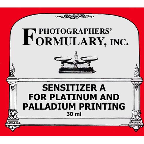 Photographers' Formulary Sensitizer A for Platinum and Palladium Printing - Makes 30ml