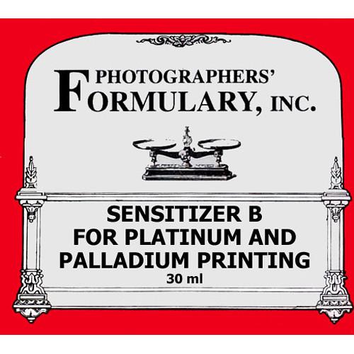 Photographers' Formulary Sensitizer B for Platinum and Palladium Printing - Makes 30ml