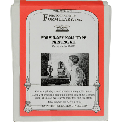 "Photographers' Formulary Kallitype Printing Kit - Makes 30 4x5"" Prints"