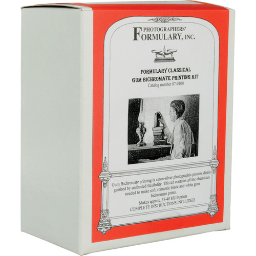 "Photographers' Formulary Classical Gum Printing Kit - Makes 35-40 8x10"" Prints"