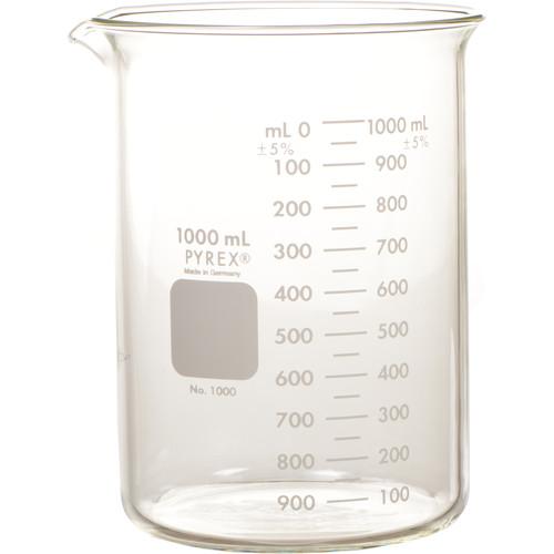 Photographers' Formulary Glass Beaker - 1000ml