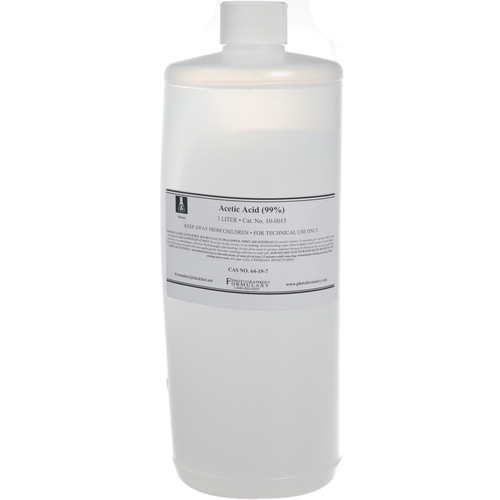 Photographers' Formulary Glacial Acetic Acid - 1 Liter
