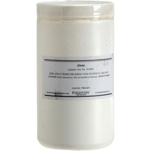 Photographers' Formulary Potassium Alum - 1 Lb.