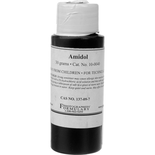 Photographers' Formulary 10-0040 4 Amidol Photographic Paper Developer 30g