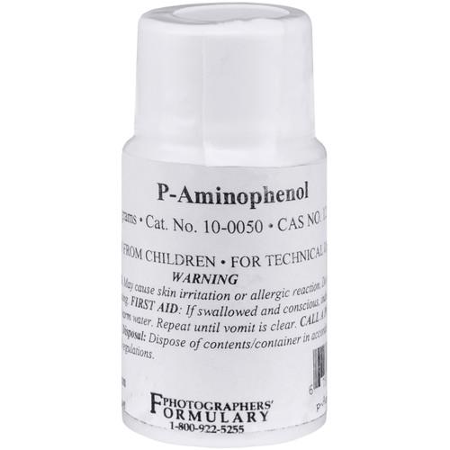 Photographers' Formulary P-Aminophenol - 10 Grams
