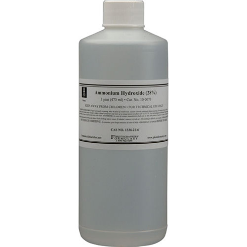 Photographers' Formulary 28% Ammonia - 1 Pint