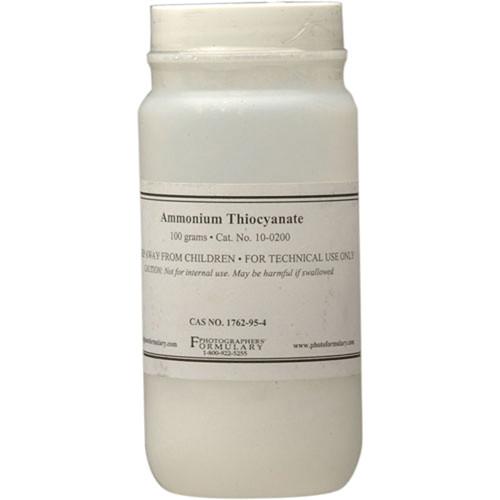Photographers' Formulary Ammonium Thiocyanate - 100 Grams