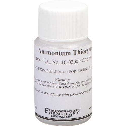 Photographers' Formulary Ammonium Thiocyanate - 10 Grams