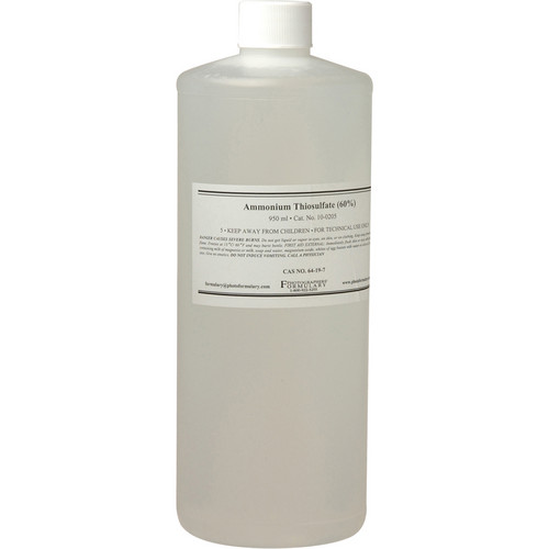 Photographers' Formulary Ammonium Thiosulfate - 1 Pint