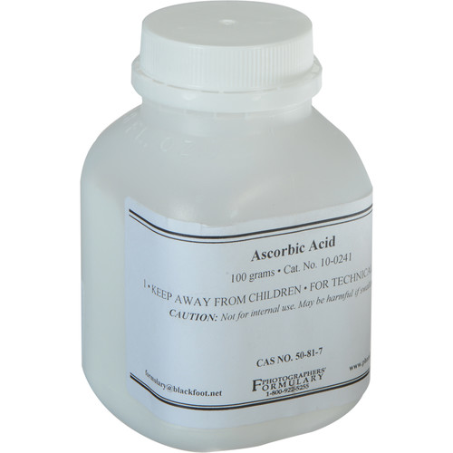 Photographers' Formulary Ascorbic Acid - 100 Grams