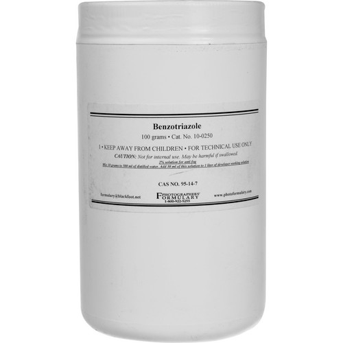 Photographers' Formulary Benzotriazole (Anti-Fog #1) - 100 Grams
