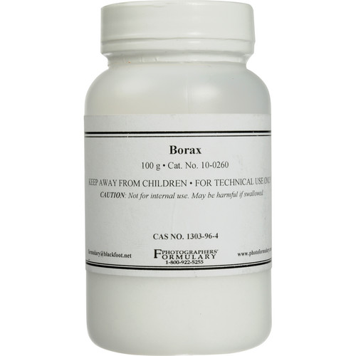 Photographers' Formulary Borax - 100 Grams