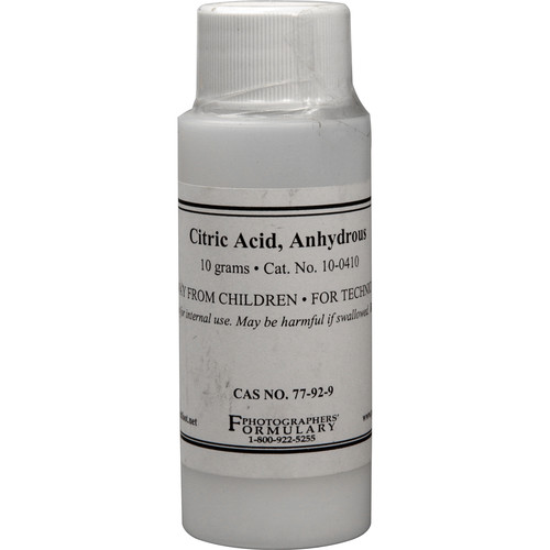 Photographers' Formulary Citric Acid (10g)