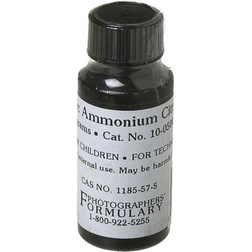 Photographers' Formulary Ferric Ammonium Citrate (Green, 10 g)