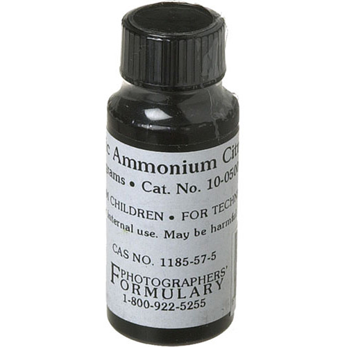 Photographers' Formulary Ferric Ammonium Citrate (Green, 10 g)
