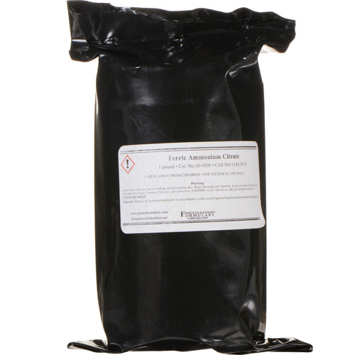 Photographers' Formulary Ferric Ammonium Citrate (Brown, 1 lb)